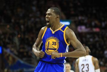 """Durant's Mom Celebrates Game 3 NBA Finals Victory: """"They Wouldn't Take It"""""""