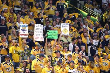 Nashville Predators Fan Curses Out NBC Analyst After Stanley Cup Loss