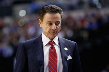 Louisville's Rick Pitino Suspended For Escort Scandal