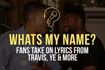 Lyrics from Ye, Travis Scott & More (What's My Name)
