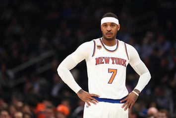 Knicks Reportedly Put Carmelo Anthony Trade Talks On Hold