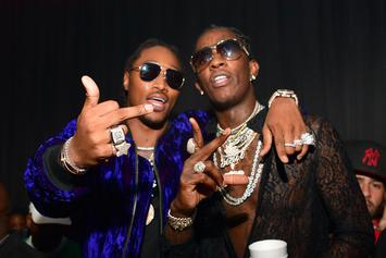 Future & Young Thug Spotted In The Studio Together