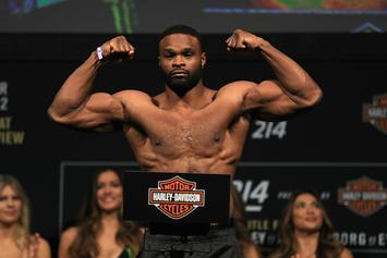 "UFC's Tyron Woodley Threatens To ""Leak Info"" If Dana White Doesn't Apologize"
