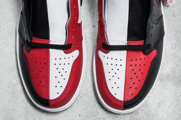 """Homage To Home"" Air Jordan 1 Combines ""Banned"" And ""Chicago"" Colorways"
