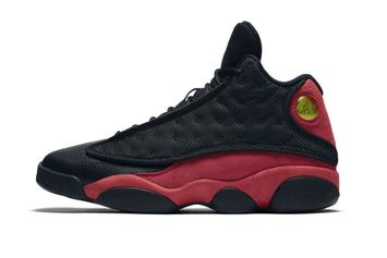 """Bred"" Air Jordan 13 Releasing In Sizes For The Whole Family"