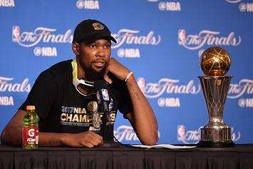 Kevin Durant Won't Visit White House If Invited