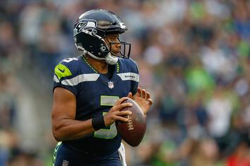 "Twitter Roasts Russell Wilson For Wearing Durag And ""Money Team"" Hat"