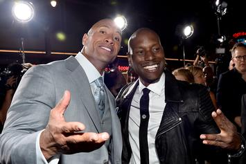 "Tyrese Fires Shots At Dwayne ""The Rock"" Johnson Over ""Fast & Furious"" Spinoff"