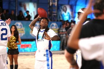 "Lil Wayne Performs ""Friends"" Theme Song: NFL Edition"