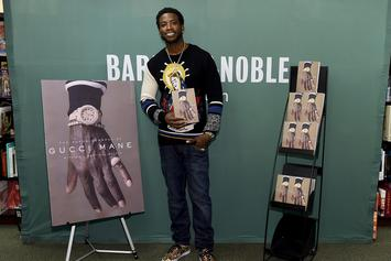Gucci Mane's Book Signing Interrupted By Fur Activists
