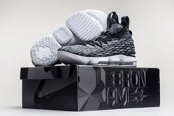 "Nike LeBron 15 ""Ashes"" Official Images Revealed"