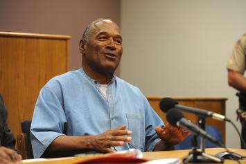 OJ Simpson Devours McDonald's As His First Post-Prison Meal