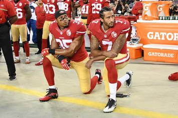 Report That Colin Kaepernick Would Stand For National Anthem Isn't True