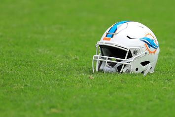 """Dolphins O-Line Coach Filmed Snorting """"White Powder"""" Before Meeting"""