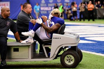 Odell Beckham Jr. Carted Off Field, Likely Out For Season
