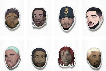 Bring Your Favorite Rapper To Bed With These New Hip-Hop Pillows