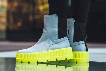 Rihanna x Puma Chelsea Sneaker Boot First Images Revealed