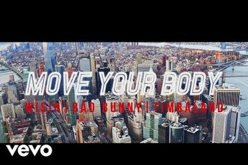 "Timbaland Assists Wisin & Bad Bunny on ""Move Your Body"""