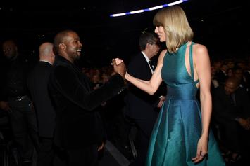 "Kanye West Fans Hold ""Hey Mama Day,"" Try To Top Taylor Swift's Streaming Totals"