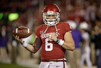 Baker Mayfield Breaks Down While Discussing His Discipline