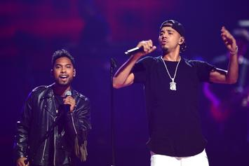 """Top Tracks: Miguel & J. Cole """"Come Through And Chill"""" At #1"""