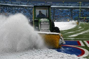 Buffalo Bills Vs. Indianapolis Colts NFL Game Plagued By Blizzard-Like Conditions