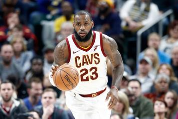 "LeBron James Shares ""Unbreakable"" Playlist Via Nike Connect Jersey"