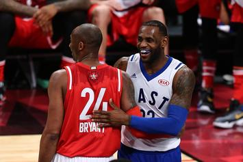 Kobe Bryant He'd Want LeBron James As A Teammate In His Prime