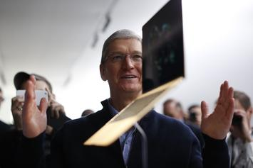 Apple's CEO Tim Cook Sees Pay Increase To $12.8M During The Last Year