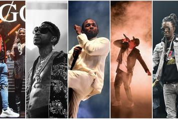 VOTE: Who Won 2017? Choose From Future, Kendrick Lamar, Young Thug & More