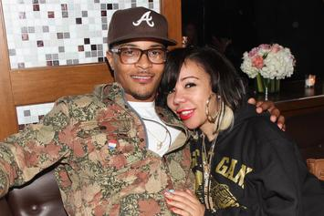 T.I. & Tiny Harris Reportedly Put Divorce On Hold, Continue To Work Things Out