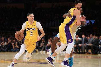 Lonzo Ball Freezes Kemba Walker, Throws Down A Highlight Dunk In Return