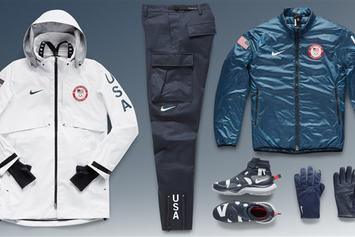 Nike Reveals What USA's Olympic Athletes Will Wear On Medal Stand
