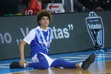 "LaMelo Ball's Coach: ""You Can't Control That Little Chipmunk"""