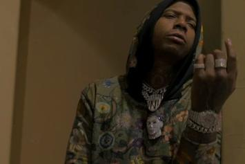 """Moneybagg Yo's Party's It Up At The Crib In His New Video For """"Nonchalant"""""""