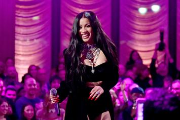 Cardi B Clears Rumor Of Ignoring Sick Children On Grammys Red Carpet