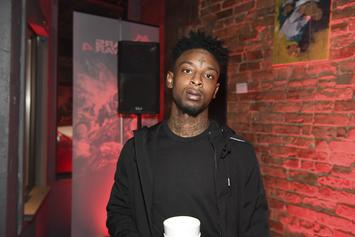 21 Savage Flexes Massive Sneaker Bill