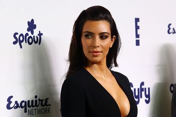 Kim Kardashian Selfie Spree: No Nipples Necessary