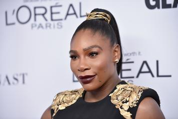 "Serena Williams Takes Young Black Girls To Screening Of ""Black Panther"""