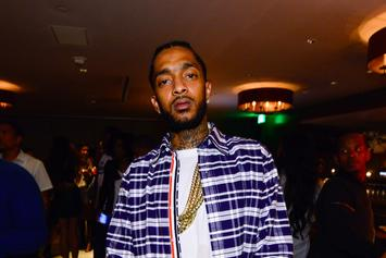 """Nipsey Hussle Questions LAPD For Towing His """"Victory Lap"""" Brink's Truck"""