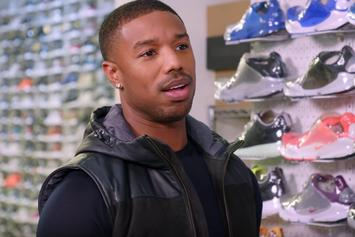 The yeezus blessing a history of kanye wests co signs michael b jordan goes sneaker shopping at stadium goods malvernweather Image collections