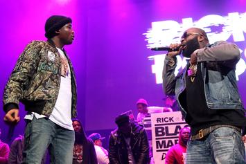 Rick Ross Still Showing Love For Meek Mill During Legal Battle