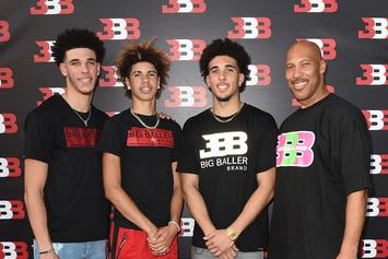 Lavar Ball Praises His Sons While Walking Around The Streets Of NYC