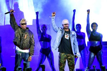 "N.E.R.D. Closes Out iHeartRadio Music Awards With Performance of ""Lemon"""