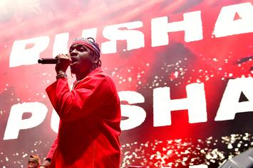 "Pusha T Announces ""King Push: Darkest Before Dawn,"" Reveals Features"
