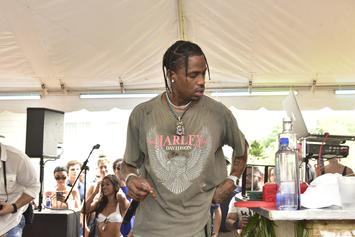 Travis Scott Debuts New Face Tattoo