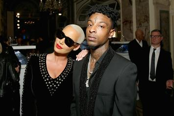 Amber Rose Confirms Split With 21 Savage