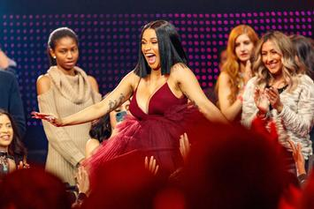 "Cardi B Applauds ""Finesse"" Filter On Snapchat"
