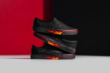 "Vans ""Flame Wall"" Collection Available Now"
