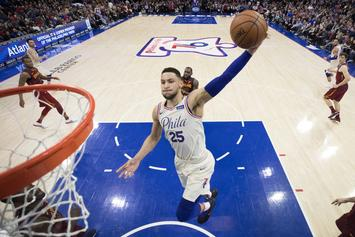"""Ben Simmons Says He's """"100%"""" The NBA Rookie Of The Year"""